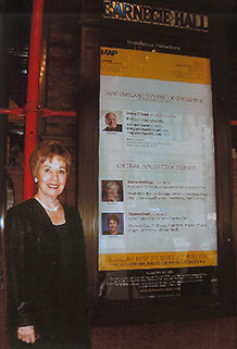 Doreen Irwin at Carnegie Hall