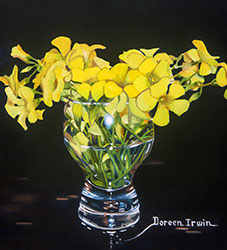 Oil Painting by Doreen Irwin