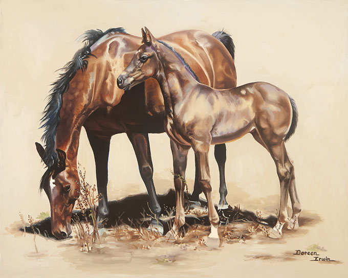 American Academy of Equine Art Official Selection